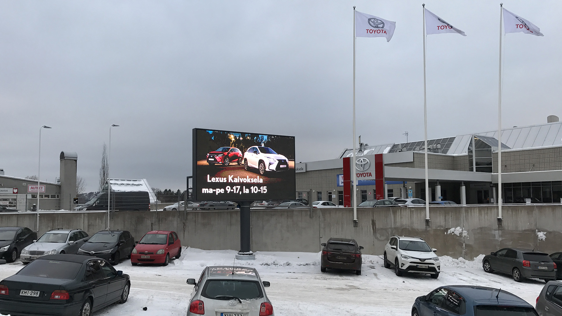 Jumbo Digital Jumboscreen Toyota